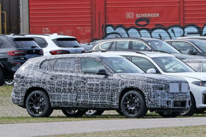【最も高価なフラッグシップSUV】BMW X8 プロトタイプの画像入手 X7よりさらに大きく