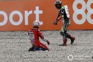 アンドレア・ドヴィツィオーゾ、転倒巻き添えでのノーポイントに「何も言うことはない」|MotoGPカタルニア