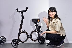 折りたたみ式電動バイク「スマサークル S1」 目標金額達成で日本上陸決定