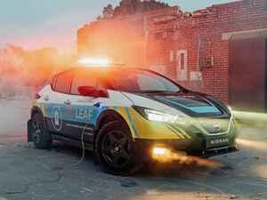 日産が災害復旧支援コンセプトカー「リ・リーフ」を欧州で公開