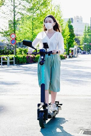 電動キックボードのシェアリング、日本でも普及の動き本格化 経産省が特例制度スタート