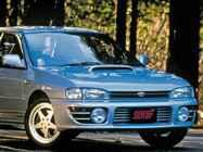 【平成スポーツPVランク第10位】スバル インプレッサWRX STi(GC8型:1994年1月発売)