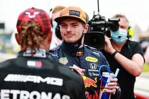 フェルスタッペン「予想外のポール。バクーで失った25点を取り戻す」レッドブル・ホンダ/F1第7戦
