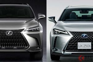レクサス「NX」が全面刷新で超進化! 弟分「UX」とデザイン似てる!? レクサスSUVの違いは?