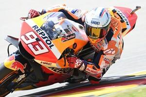 """【MotoGP】ザクセンリンクの""""王""""マルク・マルケス「連勝記録は終わる」トップ5が現実的な目標に"""