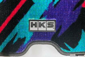 「プレミア化必至か!?」HKSがオイルカラーのフロア&ラゲッジマットを数量限定リリース!
