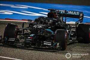 F1バーレーンGP予選:ハミルトンが完璧な仕事で今季10度目ポール。レッドブルのフェルスタッペン3番手、ホンダ4台がQ3進出