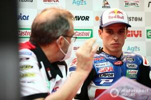 【MotoGP】「いい始まり方じゃなかった」アレックス・マルケス、カタールでの度重なる転倒でチームには謝罪