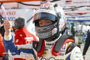 阪口晴南、昨年のGT500デビュー時と今季の違い。初ポールを支えたトムスのアプローチ【GT500予選あと読み】