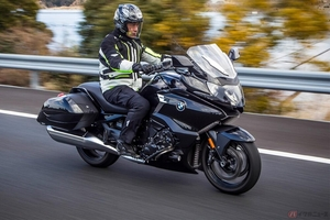the「燃費」排気量1648ccの直列6気筒エンジン搭載 160馬力に車重350kg!! BMW Motorrad「K1600B」の燃費性能は?
