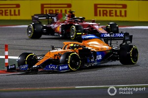 マクラーレンF1のノリス、今季はフェラーリやアルファタウリとの激戦予想「トップからも大きくは離されていない」