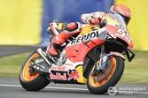 """MotoGPフランスFP3:マルク・マルケス、今季""""初""""のトップタイム記録。雨で再びヤマハ勢苦戦"""