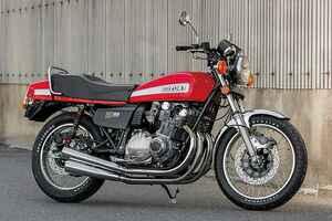 スーパーバイクGS1000(スズキGS1000)高回転時の同調音も官能的な鉄製めっき4本出しEX【Heritage&Legends】