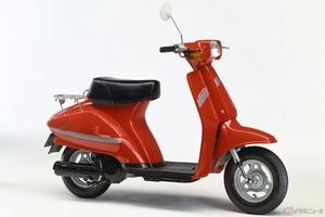 【昭和の原付】乗りやすいコンパクトサイズの50ccスクーター・スズキ「蘭」
