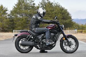 新型『レブル1100』はライディングポジションがイイ感じ! 本命はMT、それともDCT?【ホンダ2021新車ニュース/Honda Rebel 1100 後編】
