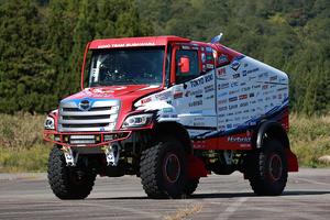 最高出力1000馬力オーバー ダカール・ラリー2022参戦車両を公開 日野自動車
