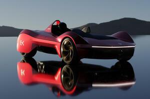 【インド最速EV】超軽量の新型ハイパーカー「エコンク」発表 独自のバッテリー空冷技術採用