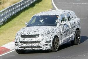 【スクープ】BMW珠玉のV8搭載! レンジローバースポーツ最強のSVR次期型がニュル再降臨!