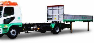 三菱ふそう、中型トラック「ファイター」でスワップボディコンテナ車仕様に対応