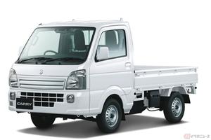 トランポとしても人気のスズキ「キャリイ」と「キャリイ特装車」が一部仕様変更! さらに便利な軽トラックへ