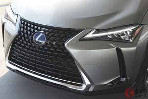 レクサス「UX」2022年モデルが北米登場! 内外装に新たなカラーコンビネーション設定