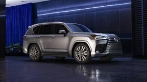 新型レクサスLXと新型トヨタ・ランドクルーザーの違いとは?
