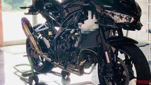 ニンジャZX-25Rターボ見参!!「内燃機関を極めたい」トリックスターの夢がカタチに
