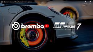ブレーキシステムのブレンボがグランツーリスモ7の公式パートナーに!