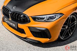 BMW「M8」がリミッター制御で最高速340キロ! 900馬力でも快適なGパワーの最新作「G8Mハリケーン」誕生!