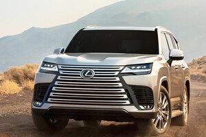 【4人乗り登場!】レクサスLX新型 高級SUV市場を争う、フルモデルチェンジ車を解説