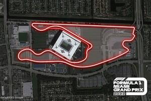 F1マイアミGPの2022年開催が決定。ハードロックスタジアムを中心とした特設コースが舞台
