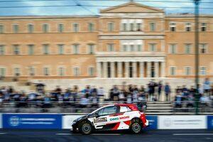 アテネで開幕のアクロポリス・ラリー、初日はオジエを先頭にトヨタ勢1-2-3/WRC第9戦