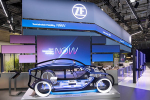 IAA2021 ZF 電動化を加速させる最新のコンポーネンツを公開