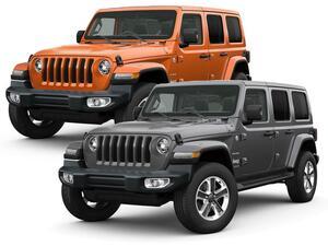 ジープの本格オフロードモデル、ラングラーが装備の一部改良とともに車両価格も変更