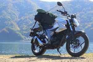 燃費キングのスズキ『ジクサー150』に大荷物を積んでイジワル燃費計測【SUZUKI GIXXER/キャンプツーリングインプレ 燃費性能編】