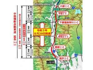 【高速道路情報】中央道/新東名/東名が直結。中部横断自動車道 南部IC~下部温泉早川ICが2021年8月29日に開通