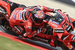 "【MotoGP】前半戦3番手のバニャイヤ「ドゥカティがタイトル争うには""もう一歩""改善が必要」"