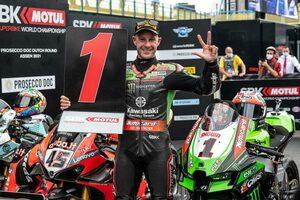SBK第5戦オランダ:レイが3レースで優勝を飾りランキングトップを奪還。ラズガットリオグルはレース2で転倒リタイア