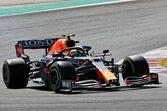【F1第3戦無線レビュー(2)】「目標はプランAプラス10周だ」ペレス、メルセデス勢を抑えるべく中古タイヤで51周