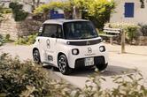 【1人乗りの電動商用車】シトロエン・アミ 新たに商用車仕様追加 6月欧州発売