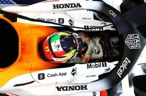 ペレス初日4番手「最善のセットアップを見つけて、メルセデスに挑みたい」レッドブル・ホンダ/F1第16戦