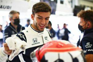 ガスリー「アンダーステアに苦労した。問題を解決してアルピーヌに勝ちたい」アルファタウリ・ホンダ/F1第16戦金曜