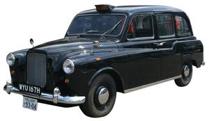 レストアとEVコンバートで蘇った1969年製の英オースチン社製ロンドンタクシー