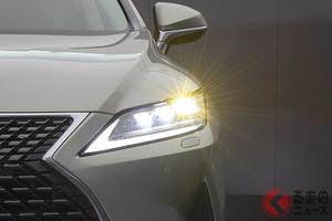 なぜライトが「眩しい!」声が増加? SUVやミニバン流行の背景やLED採用車が増えたから?