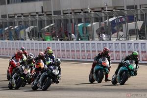 MotoGP第12戦 ヤマハのモルビデリが今季2勝目 スズキ勢も表彰台を獲得