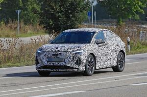 【最新の電動SUV】新型アウディQ4 eトロン・スポーツバック 最新スパイショット
