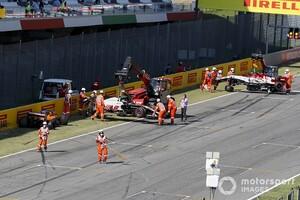 ムジェロ戦メインストレートでの多重クラッシュで12人のドライバーに警告「加速と減速に一貫性がなかった」と結論|F1トスカーナGP