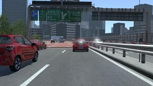 首都高速・都心環状線を路面の継ぎ目やバンプまで完全再現。英国「rFpro」が開発したミリ単位の高精度デジタルツイン!【動画】