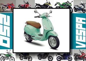 ベスパ「プリマヴェーラ150」いま日本で買える最新250ccモデルはコレだ!【最新250cc大図鑑 Vol.041】-2020年版-