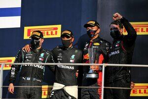 レッドブル代表「初表彰台と0周リタイアに複雑な思い。問題再発防止のため調査を行う」【F1第9戦決勝】